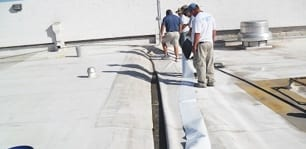 SINGLE-PLY ROOF REPAIR