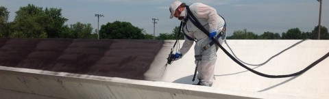 FLAT ROOF WATERPROOFING and UV Reflective Coatings