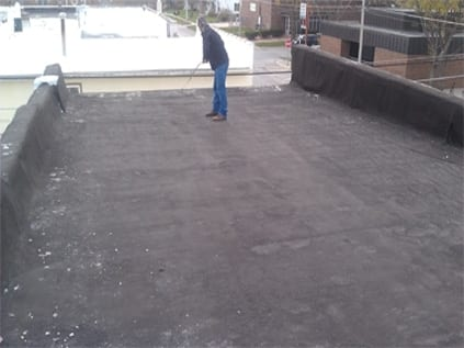 Old Built Up Roof Austin Roofing And Waterproofing