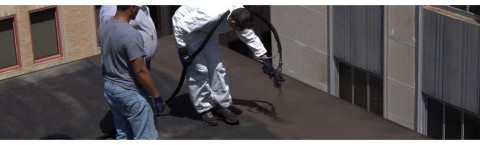 FLAT ROOF RESTORATION – FLAT ROOF REPAIR – LIQUID RUBBER MEMBRANE