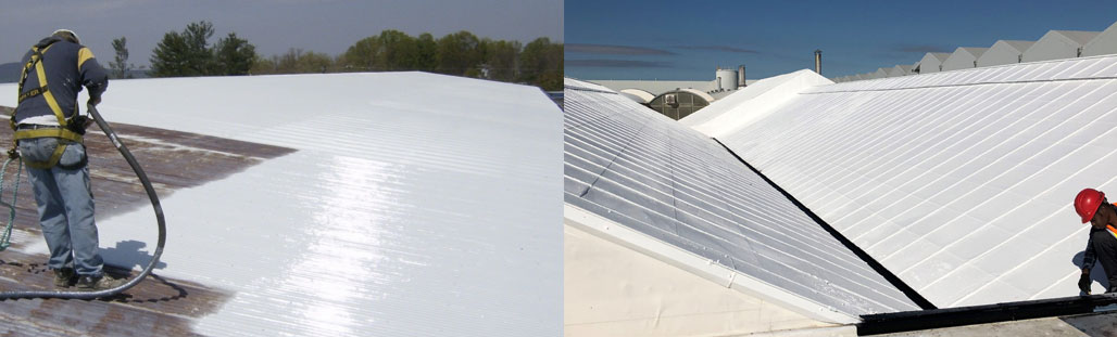UV White Cool Roofing