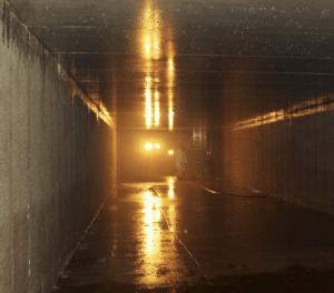 Undergound concrete Waterproofing Greenhouse