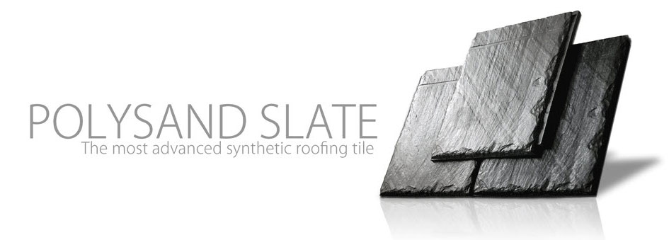 Austin Roofing offers Polysand Slate Tiles