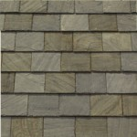 Slate Shingles Gray-Black