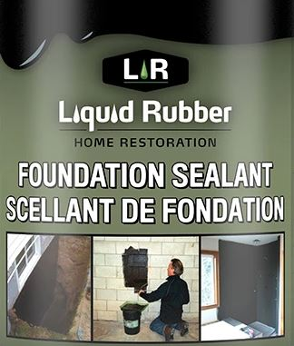 Austin Roofing Liquid Rubber Foundation Sealant